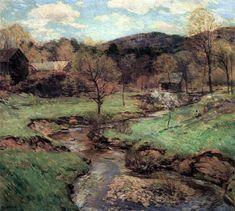 "Willard Leroy Metcalf (1858-1925), ""Joyous Maytime"""
