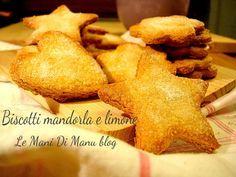 Biscotti mandorla e limone | Ricetta biscotti da tè | Le Mani Di Manu