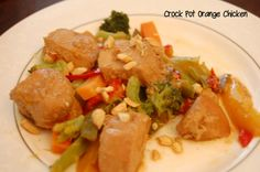 Crock Pot Orange Chicken - Who Needs A Cape?