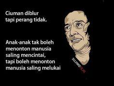 sujiwo tejo Rude Quotes, Art Quotes, Qoutes, Inspirational Quotes, Cool Captions, Quotes Galau, Self Reminder, Caption Quotes, Quotes Indonesia