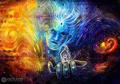 Delivering delirium #art #ipadart #psychedelic #painting #visionaryart http://www.digitalvisionaryart.co.uk/