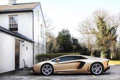Gorgeous color on a gorgeous car.