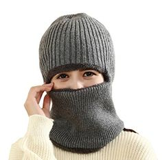 Women Men Fall Winter Velvet Warm Ninja Face Mask Actical Windproof Balaclava Ski Cap Multi Function Hooded Scarf Beanie Hat Men's Skullies & Beanies Men's Hats