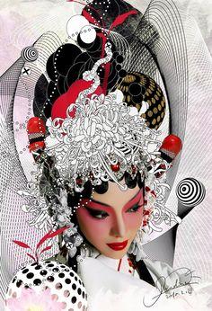 CGI Actress of Peking Opera by diudiudiudiu