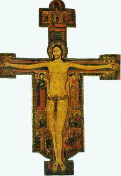 Maestro Guglielmo - Christus triumphans - 1138 - Tempera su tavola - Sarzana (SP), Cattedrale di Santa Maria Assunta