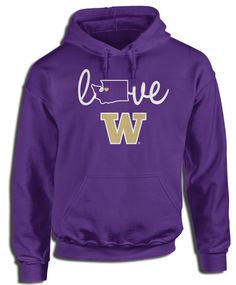 Washington Huskies Official Apparel - this licensed gear is the perfect clothing for fans. Makes a fun gift!
