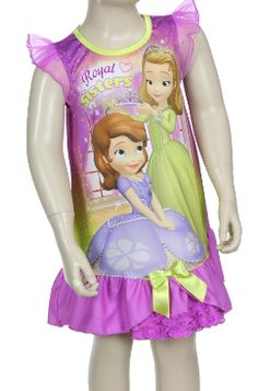 SOFIA ROYAL SISTERS NIGHTGOWN  Price: $19.99, Free Shipping Options: 2T, 3T, 4T #disney