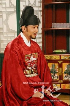 Yi San (Hangul: 이산; hanja: 李祘), also known as Lee San: The Wind of the Palace, is a 2007 South Korean historical drama, starring Lee Seo-jin and Han Ji-min. It aired onMBC from September 17, 2007 to June 16, 2008 on Mondays and Tuesdays 정후겸 조연우