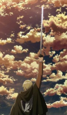 Erwin Smith - Attack on Titan - Mobile Wallpaper - Zerochan Anime Image Board Aot Wallpaper, Wallpaper Animes, Animes Wallpapers, Wallpaper Backgrounds, Attack On Titan Tattoo, Erwin Attack On Titan, Attack On Titan Fanart, Armin, Mikasa