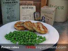 Potato Cakes No 107 | The 1940's Experiment