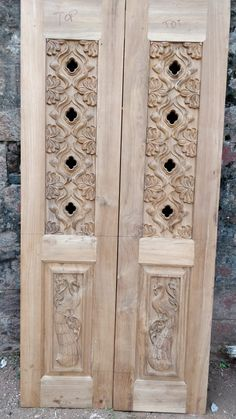 Beautiful CNC carved MDF panels to add a Unique Touch to Your Projects Single Door Design, Wooden Front Door Design, Double Door Design, Main Door Design, Wooden Front Doors, Wooden Door Hangers, Wood Doors, Pooja Room Door Design, Door Design Interior
