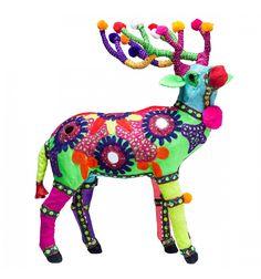 Statua Decorativa Cervo Fiesta Colore Kare Design
