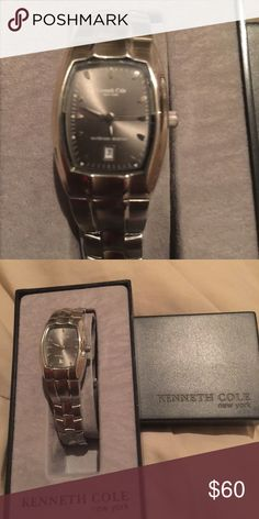 Women's Kenneth Cole Watch Women's Kenneth Cole watch in excellent condition, hardly used just needs new battery. Kenneth Cole Jewelry