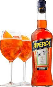 Aperol Spritz - Fill a large wine glass with ice and add 3 parts of prosecco, 2 parts Aperol and 1 part soda water. Garnish with orange slices. Serves 1 (or scale up for a jug)