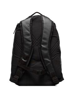 cfcd058c55d4 Y-3 Black Coated Canvas Signature Backpack