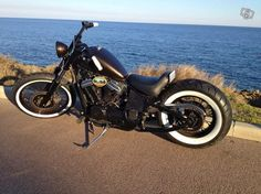 HONDA VT600 Bobber, I like everything but the lame seat