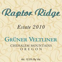 Raptor Ridge 2010 Gruener Veltliner does incredibly well in this OR soil! Worth a try! @raptoridge