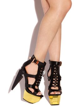 Lola Shoetique - Haute Strike - Black, $112.00 (http://www.lolashoetique.com/haute-strike-black/)
