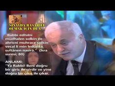 Nihat Hatipoglu - Sinav icin Okunacak Dua - YouTube