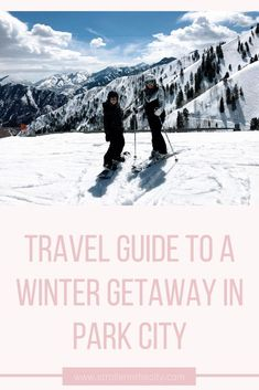 Beyond Park City Utah! All Family, Family Travel, Travel Advice, Travel Guide, Travel Ideas, All I Ever Wanted, Winter Travel, Holiday Travel, Cool Places To Visit