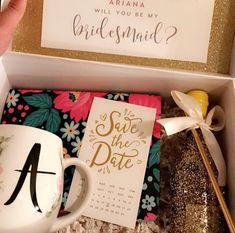 Bridesmaid proposal boxes are ready ! Brides Maid Proposal, Bridesmaid Proposal Box, Be My Bridesmaid, Bridesmaids, Boxes, Collection, Instagram, Crates, Bridesmaid