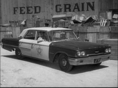 ✿Andy's 1963 Ford Patrol Car On Mayberry RFD✿