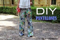DIY Costura: Pantalones pata de elefante (patrón gratis incluido) | Aprender manualidades es facilisimo.com