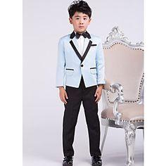 Ring Bearer Dressy Tuxedo Suits Fashion Ring Bearer Suit Boys Tuxedos (1219367)
