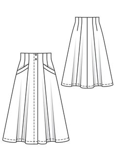 Burda 05/2012 flared skirt sewing pattern. I would shorten it to just above the knee...I love the fab corset-style waist.