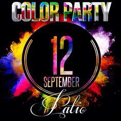 Questa sera, sabato 12.9.15 #onenight #patio #rubiera #colorparty #treskafamily #dimitrimazzoni info 3933366886