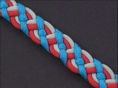 Paracord Celtic Bar | Fusion Knots | Paracord patterns