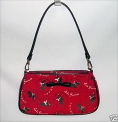 Lulu Guinness Small Zoe Poodle Print Bag
