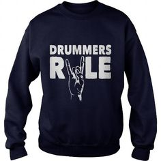 I Love Drummers rule T shirts #tee #tshirt #named tshirt #hobbie tshirts # Drumming