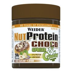 Delicious hazelnut and cocoa spread with high quality whey protein, ideal for all kinds of diets. Staying fit and slim has never been so easy and so tasty! Whey Protein, Low Sugar, Stay Fit, Diets, Nutella, Cocoa, Gluten Free, Tasty, Slim