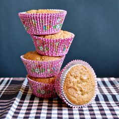 Magdalenas American style = Peanut butter Muffins - Spanish Recipes by Núria