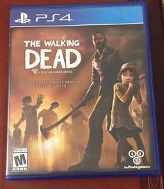 The Walking Dead: The Complete First Season Plus 400 Days PS4 PlayStation 4