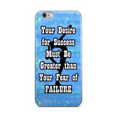 Fear of Failure-Figure Skating iPhone Case