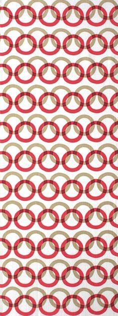 Japanese washcloth, Tenugui 紋がさね 輪違いつなぎ