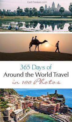 Around the World Travel in 100 Photos.
