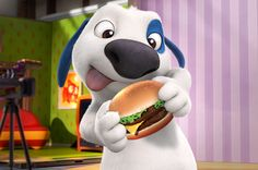 talking hank is giving up burgers...april fool's