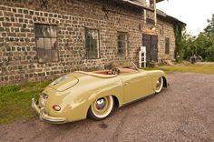 Stanced Porsche 356 Speedster