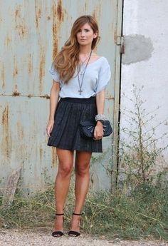 PIXICS  Shirt / Blouses, Bershka  Skirts and Mango  Clutches