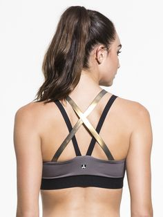 Rhombus SILK Bra by ULTRACOR in Taupe