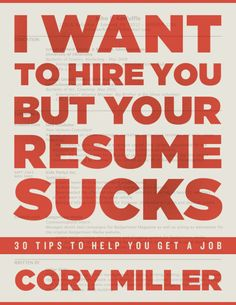 I Want to Hire You But Your Resume Sucks eBook by iThemes
