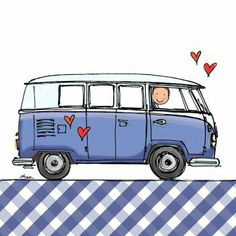 Hippie campers drawing vw bus Ideas for 2019 Volkswagen Bus, Vw T1, Hippie Camper, Vw Camper, Van Drawing, Camper Drawing, Best Pop Up Campers, Bus Art, Combi Vw