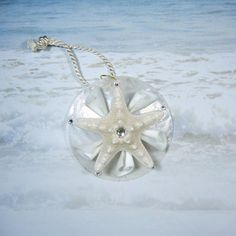 Starfish Seashell Wedding Favor or Gift  Lily Star  by ShellScapes