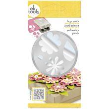 EK Tools Flowers and Leaves Punch Packaging