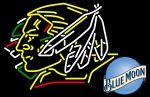 Blue Moon North Dakota Fighting Sioux Hockey Neon Sign 5 0007, Blue Moon With Hockey Neon Signs | Blue Moon Neon Beer Signs  Lights. Makes a great gift. High impact, eye catching, real glass tube neon sign. In stock. Ships in 5 days or less. Brand New Indoor Neon Sign. Neon Tube thickness is 9MM. All Neon Signs have 1 year warranty and 0% breakage guarantee.