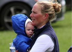 This weekend, Zara Phillips participated in an equestrian competition in Henley on Thames in Oxfordshire. The opportunity to see the little face of his daughter Mia Tindall.