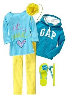 Gap Kid Girl Neon Gifts